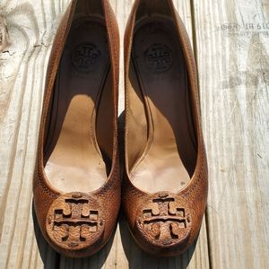 Tory burch Wedges sandals Sz 7 m